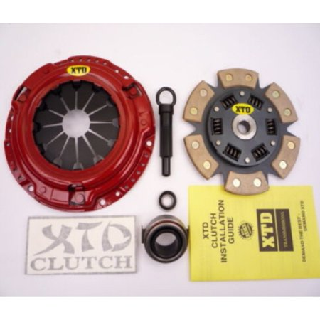 XTD STAGE 3 CLUTCH KIT 1989 HONDA CIVIC CRX 1.5L - 1989 Honda Civic Bumper