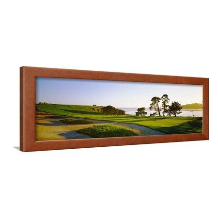 Pebble Beach Golf Course, Pebble Beach, Monterey County, California ...