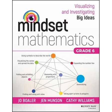 Mindset Mathematics: Visualizing and Investigating Big Ideas, Grade 6 - Halloween Math Center Ideas