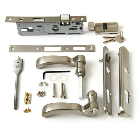 Andersen Storm Door Handle Assembly in Nickel Finish Traditional Style 2004 to (Bezel Door Assembly)