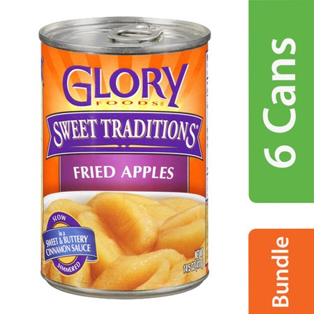 India Sweet Fruit - (6 Pack) Glory Foods Sweet Traditions Fried Apples, 15.5 oz