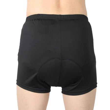 Men Polyester Fiber Elastic Bike Cycling Shorts W36 - image 1 de 6