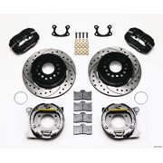 Wilwood Forged Dynalite P/S Park Brake Kit Drilled Small Ford 2.66in Offset