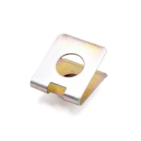 20Pcs 6mm Thread Hole U-Type Clips Retainers Rivets Fastener for Car Bumper - image 2 de 3