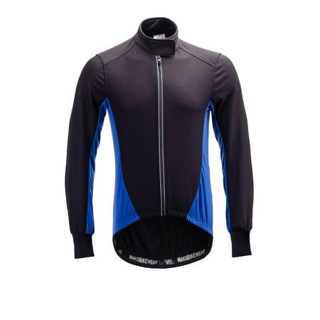 Long Sleeve Thermal Barrier Cycling Biking Windproof Firewall Winter (Long Sleeve Cycling Jacket)