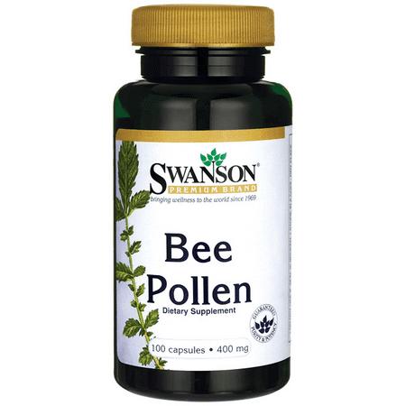 Swanson Bee Pollen 400 mg 100 Caps