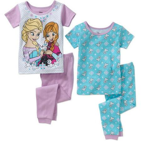 3000e21da Disney Frozen - Frozen Toddler Girl s Licensed Cotton 4-piece Set ...