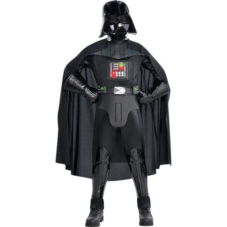 Costumes USA Star Wars Darth Vader Costume Supreme for Boys, Includes a Jumpsuit, a Mask, a Cape, and More](Supreme Costumes)