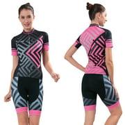 a8f97ba9c Women Cycling Clothing Set Fashion Racing Bicycle Clothes Women ...