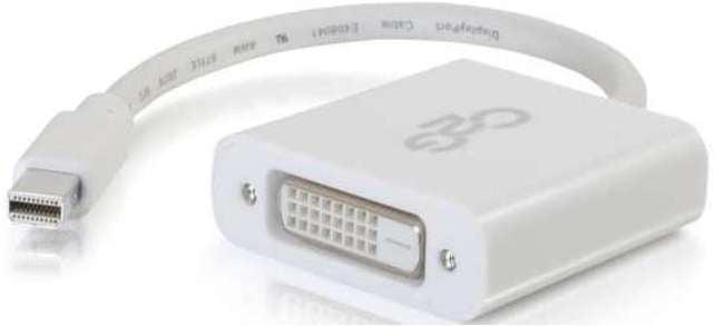 C2G 757120543190 54319 8-inch Mini DisplayPort to DVI-D Active Adapter
