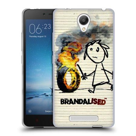 Official Brandalised Street Art Soft Gel Case For Xiaomi Phones