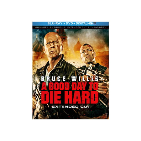 A Good Day to Die Hard (Blu-ray + DVD + Digital (A Good Day To Die Hard Actress)