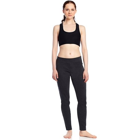 Leveret Women's Fitted Legging 100% Cotton (Size (Navy Cotton Spandex)