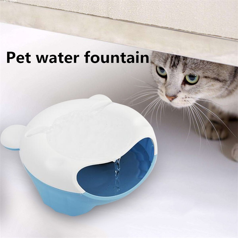 Healthy Hygienic Electric Water Dispenser Water Fountain USB Version for Pet Dog Cat