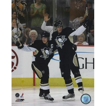 Sidney Crosby & Evgeni Malkin 2007-08 Action Sports - Malkin Crosby Halloween