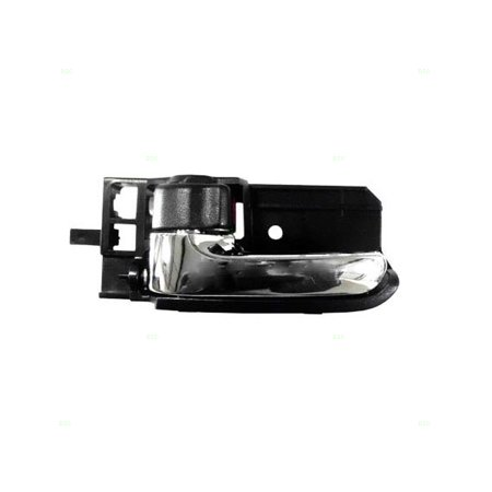 Drivers Inside Inner Black & Chrome Door Handle Replacement for Toyota Scion 69206-02090-E0
