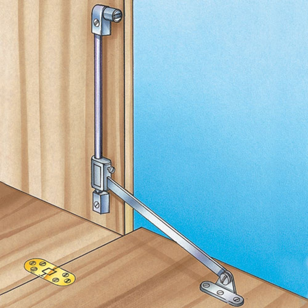 Stopmatic Drop Front Support With Catch By Rockler Ship From Us