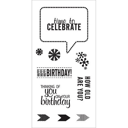 (Fiskars 104260-1001 Clear Stamps 4x8 Inch, Celebrate Family)