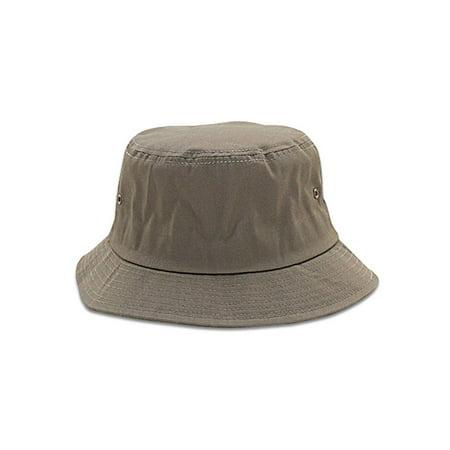 COTTON BLEND TWILL BUCKET HAT - Walmart.com ea2436975b1