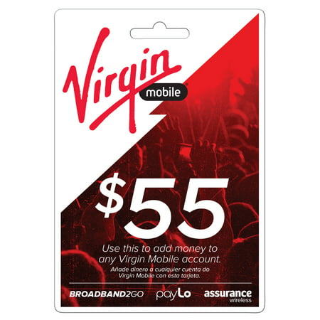Virgin Mobile $55 Top Up (Email Delivery)