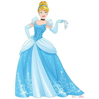 Disney Princess Cinderella Standup, 5' Tall