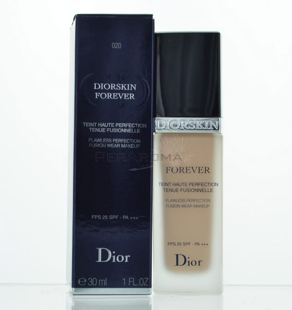 Diorskin Forever Flawless Perfection Fusion Wear Makeup SPF 25- #020 Light Beige by Christian Dior for Women - 1 oz Foundation