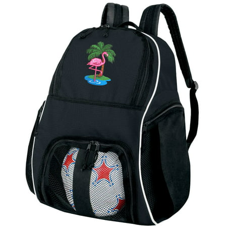 Flamingo Soccer Backpack or Flamingo Volleyball Bag](Personalized Soccer Bags)