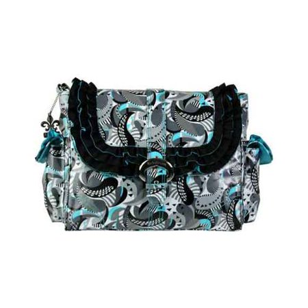 Women's Kalencom Coated Miss Prissy Diaper Bag Mardis Gras Paisley (Paisley Diaper Clutch)