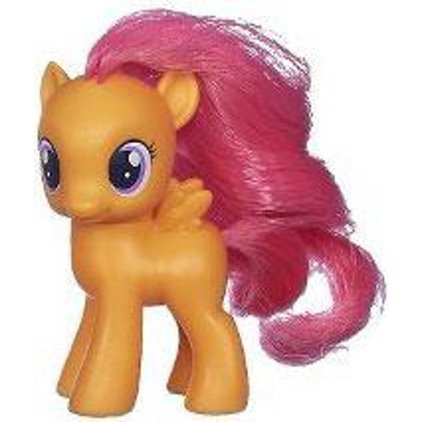 My Little Pony Scootaloo Collectible Figure Walmart Com Walmart Com The name of one of the cutiemark crusaders(cmc) from my little pony: my little pony scootaloo collectible figure