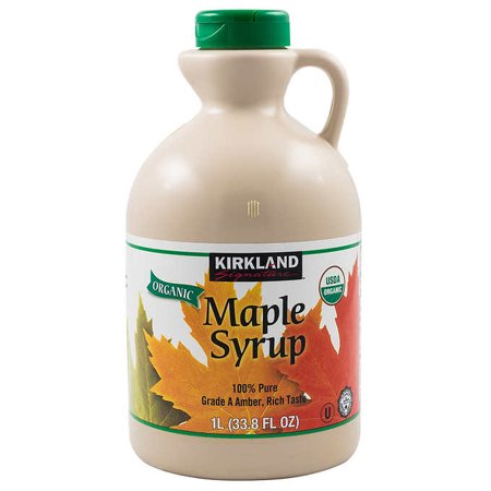 Kirkland Signature Organic Pure Maple Syrup, 33.8 oz ()