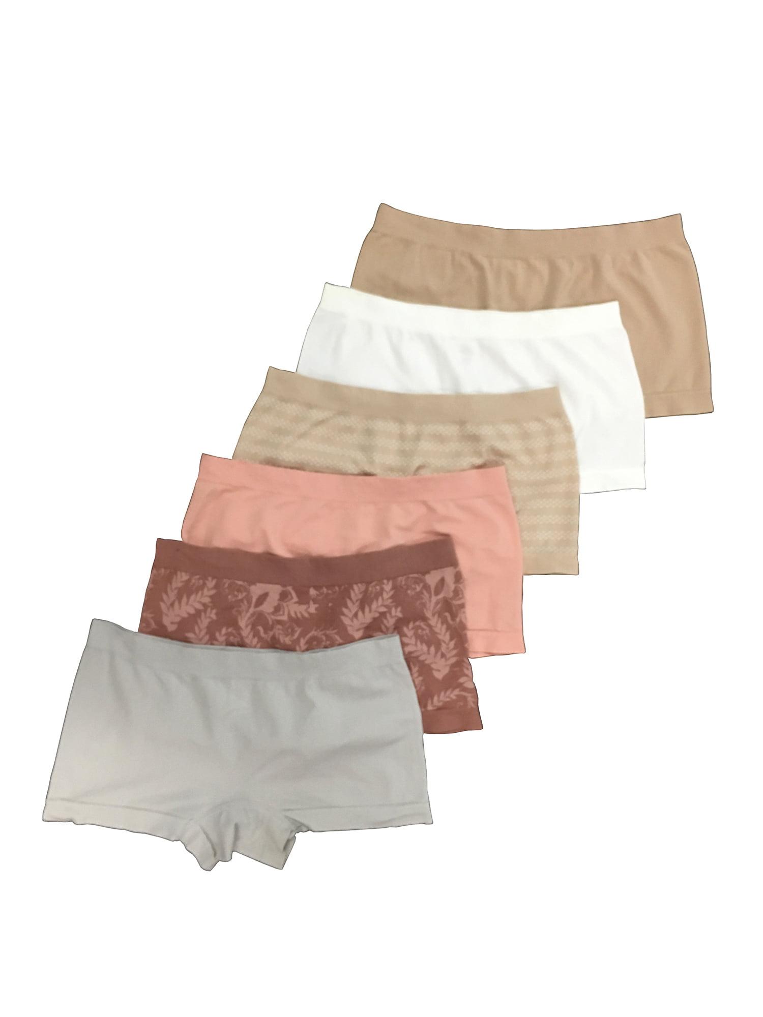 Secret Treasures 6PK Boyshort Panty