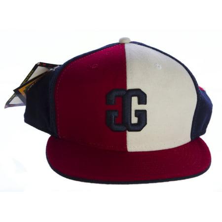 HEADGEAR Authentic Negro League Double G Hat Red Blue White - Walmart.com 7d01a4b82be
