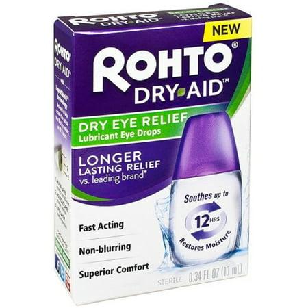 Rohto Dry-Aid Dry Eye Relief Eye Drops