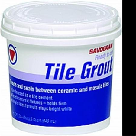White Tile Grout (TILE GROUT WHITE 1QT )