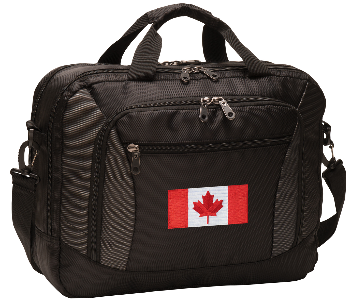Canada Flag Laptop Bag DELUXE Canadian Flag Computer Bags