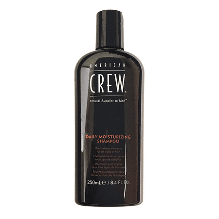 American Crew Daily Moisturizing Shampoo 8.4 Oz, For All Hair (Best American Crew Shampoo)
