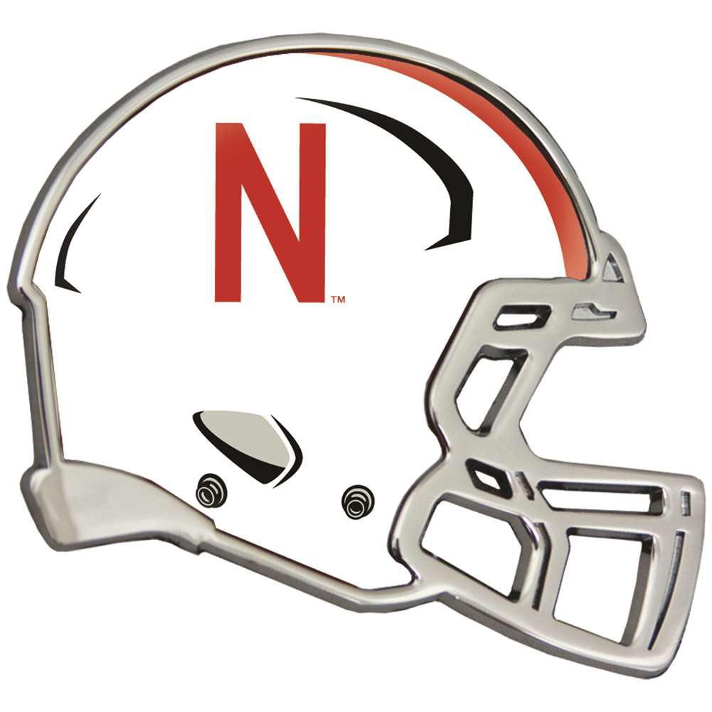 Nebraska Cornhuskers Auto Emblem - Helmet