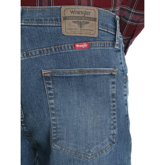 a77c4968 Wrangler - Wrangler Big Men's 5 Star Relaxed Fit Jean with Flex -  Walmart.com