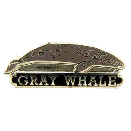 Gray Whale Pin 1