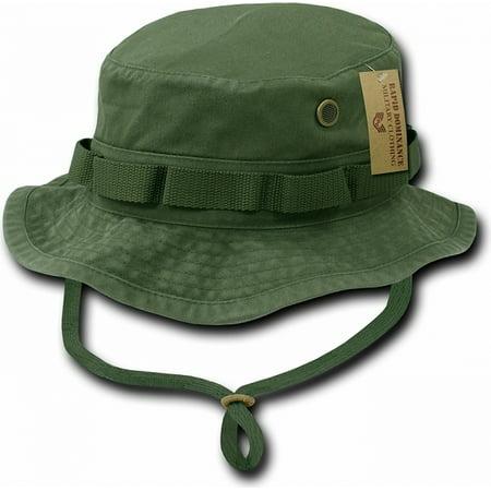 RapDom Vintage Washed Jungle Mens Boonie Hat  Olive Green - XL  -  Walmart.com 4aa7e949cea
