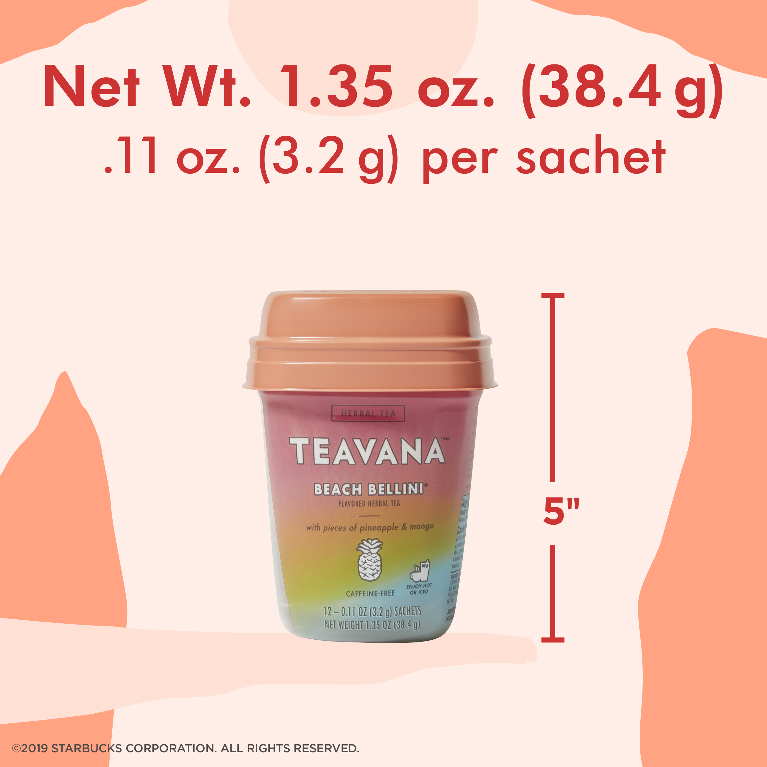 Teavana Beach Bellini Herbal Tea, Tea