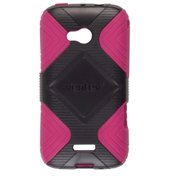 Ventev GEO Case for the Samsung Galaxy Victory 4G LTE SPH-L300 (Pink/Black)