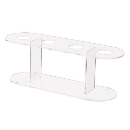 (ACS-4) 4-Hole Ice Cream Cone Holder, Ice cream cone holder made of acrylic By Update International Ship from US