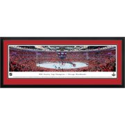 Chicago Blackhawks 2015 Stanley Cup Champions Deluxe Framed Panoramic Photo