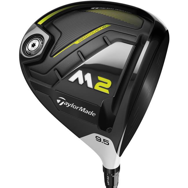 new 2017 taylormade golf m2 460cc 10.5* driver fujikura xlr8 pro 56g regular flex