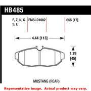 Hawk 05-07 Ford Mustang GT & V6 HPS Street Rear Brake Pads