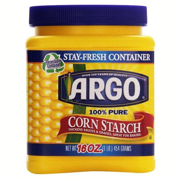 Argo 100 Pure Corn Starch 16 Oz Containers 1 Walmart Com Walmart Com