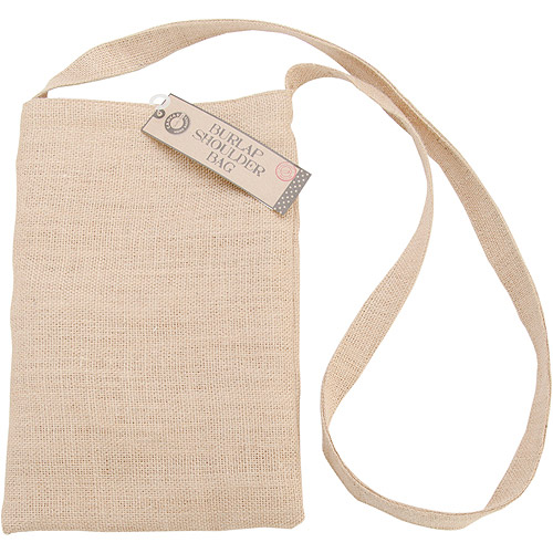 Canvas Corp Burlap Medium Shoulder Bag