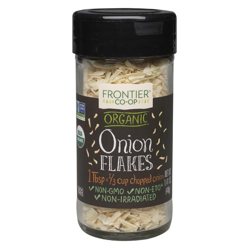 Frontier Natural Products Onion Og White Flakes, 1.41 Oz
