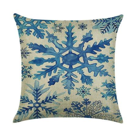 Mosunx Halloween Pillow Box Linen Sofa Funny Ghost Pad Cushions Home Decoration](Halloween Pillows Decorations)